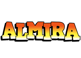 Almira sunset logo