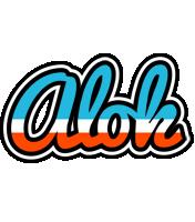 Alok america logo