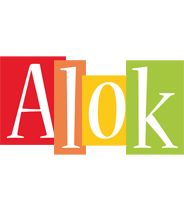 Alok colors logo