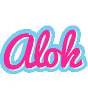 Alok popstar logo