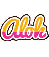 Alok smoothie logo
