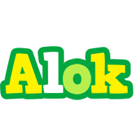 Alok soccer logo