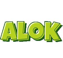 Alok summer logo