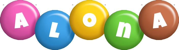 Alona candy logo