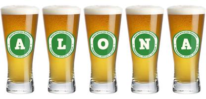 Alona lager logo