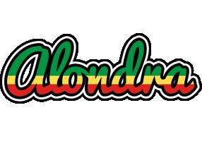 Alondra african logo