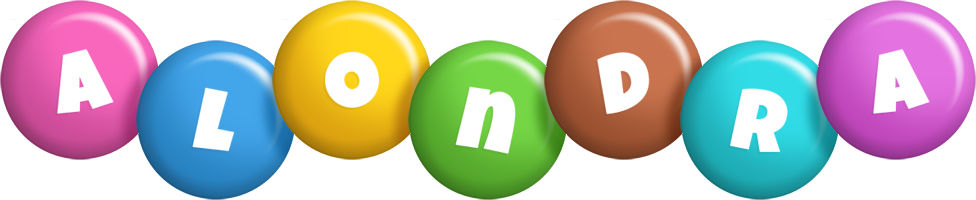 Alondra candy logo