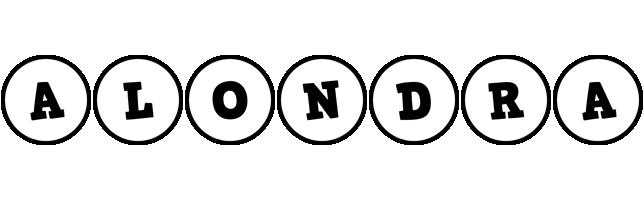 Alondra handy logo