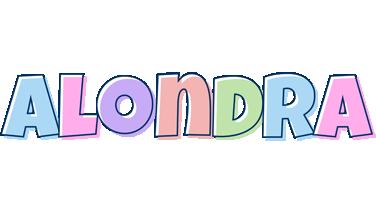 Alondra pastel logo