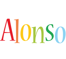 Alonso birthday logo