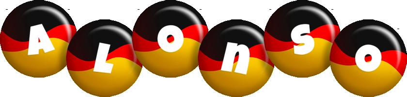 Alonso german logo