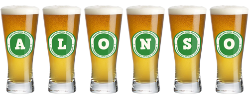 Alonso lager logo