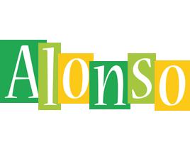 Alonso lemonade logo