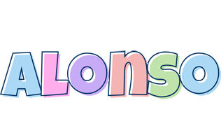 Alonso pastel logo