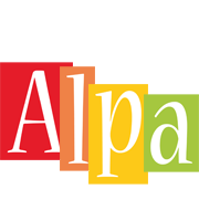 Alpa colors logo