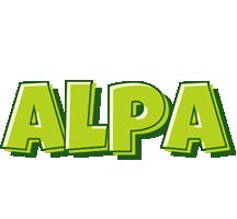 Alpa summer logo