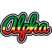 Alpha african logo