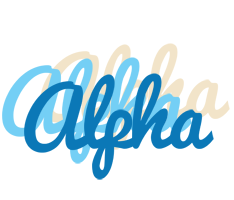 Alpha breeze logo