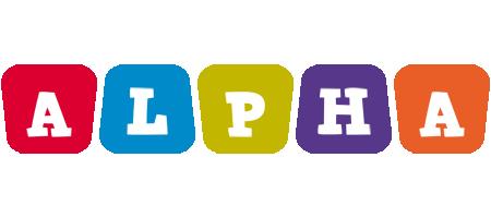Alpha daycare logo