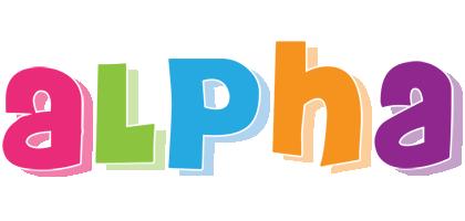 Alpha friday logo