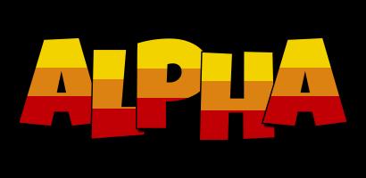 Alpha jungle logo