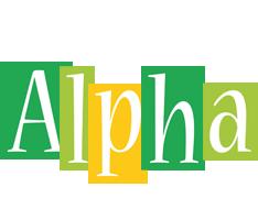 Alpha lemonade logo