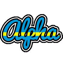 Alpha sweden logo