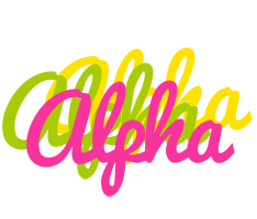 Alpha sweets logo