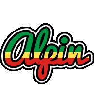 Alpin african logo