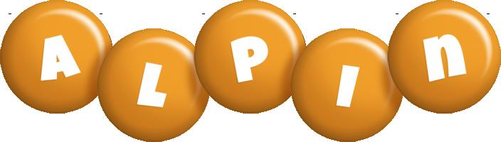 Alpin candy-orange logo