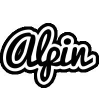 Alpin chess logo