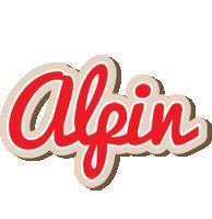 Alpin chocolate logo