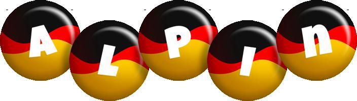 Alpin german logo