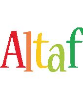 Altaf birthday logo