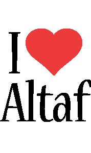 Altaf i-love logo