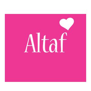 Altaf love-heart logo