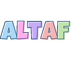 Altaf pastel logo