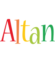 Altan birthday logo