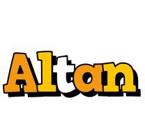 Altan cartoon logo