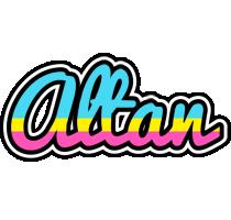 Altan circus logo