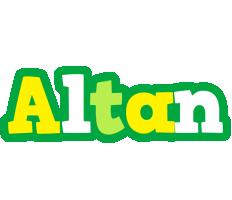Altan soccer logo