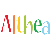 Althea birthday logo