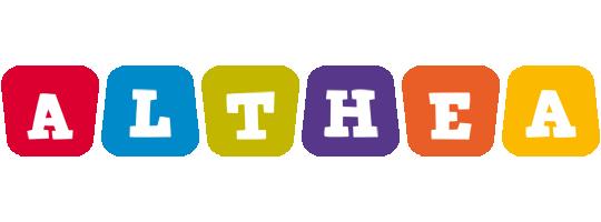 Althea daycare logo