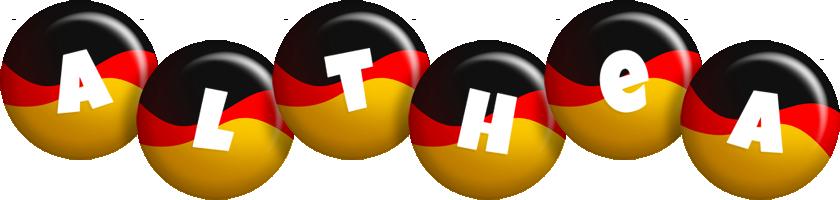 Althea german logo