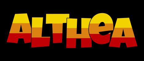 Althea jungle logo