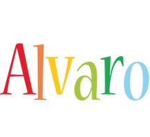 Alvaro birthday logo