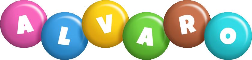 Alvaro candy logo