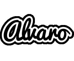 Alvaro chess logo
