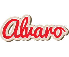 Alvaro chocolate logo