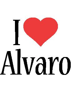 Alvaro i-love logo